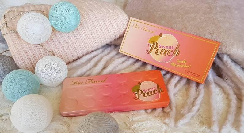 Revue palette Sweet Peach Too Faced