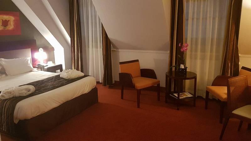 Chambre hôtel le Couvent des Minimes Lille