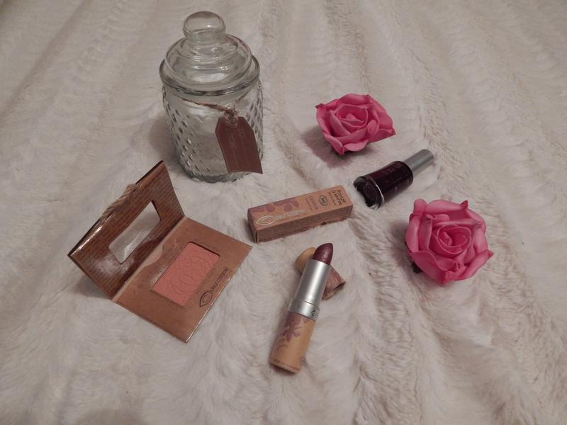 Couleur Caramel: test du maquillage bio