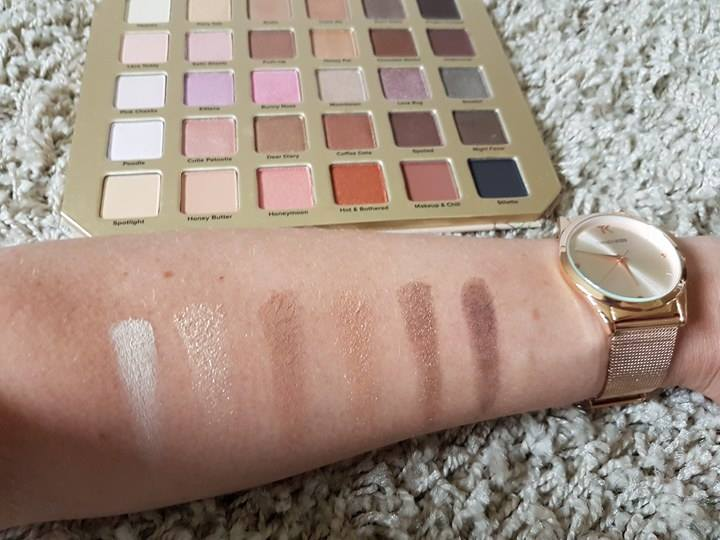 Swatchs palette Natural Love