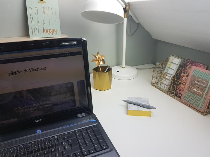 visite de mon bureau et conseils déco