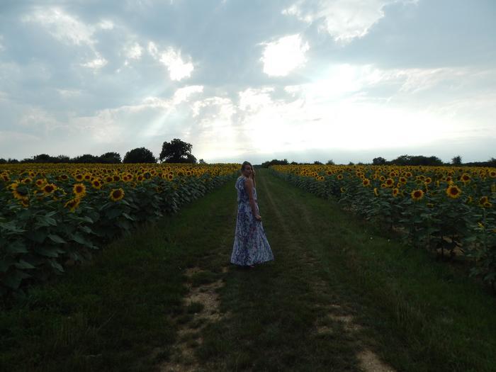 Le cas de la robe longue fleurie…