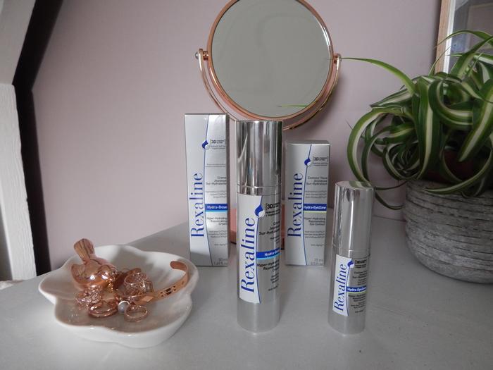Test de la gamme visage sur-hydratante Rexaline