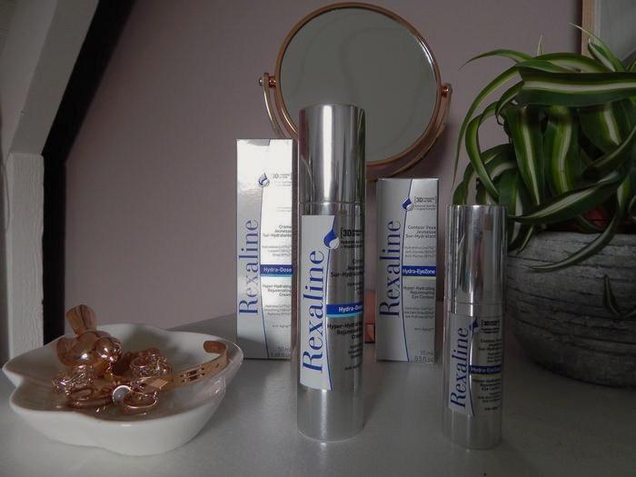 test et revue complète de la gamme de soins visage sur-hydratants Rexaline
