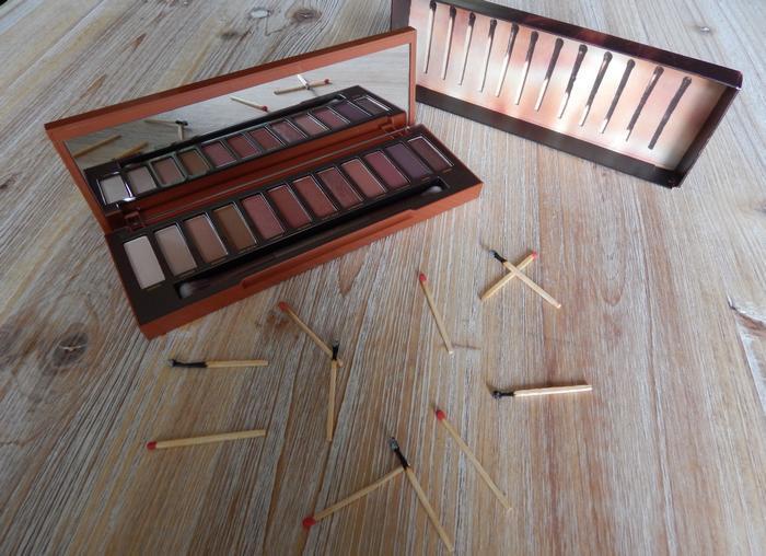 Palette Naked Heat: ma revue