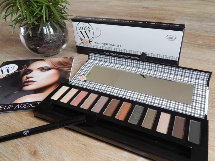 Test et revue du maquillage bio Miss W
