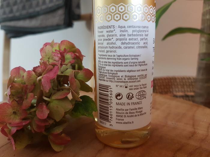 Test et découverte de la marque bio Abellie à base des produits de la ruche