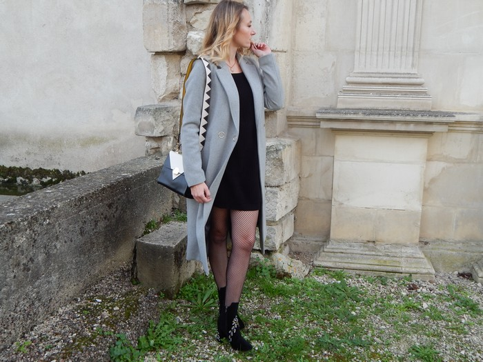 look casual chic manteau long