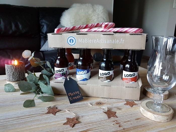Idée cadeau: de la bière à Noël?