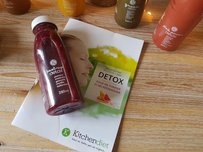 mon expérience et mon test de la cure de jus detox 3 jours kitchendiet
