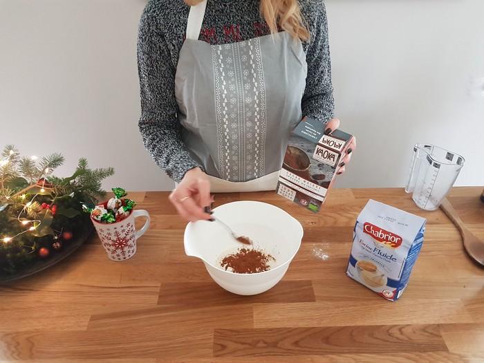 ma recette des sablés de Noël aux épices et au chocolat