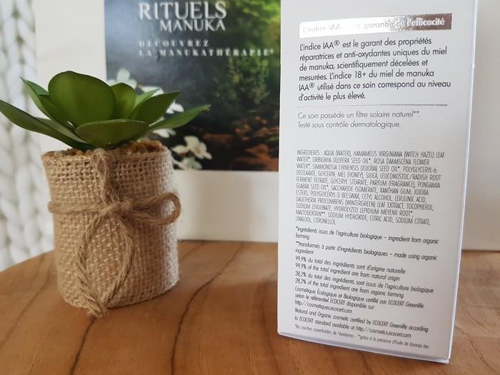 découverte et test des produits anti-âge rituels manuka