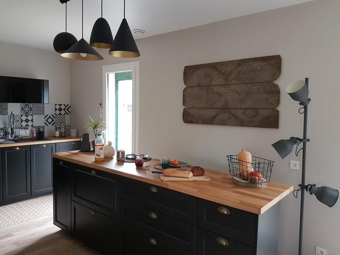 house tour: je vous invite à découvrir les travaux et la décoration de ma cuisine