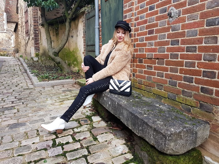look hiver rock boots blanches