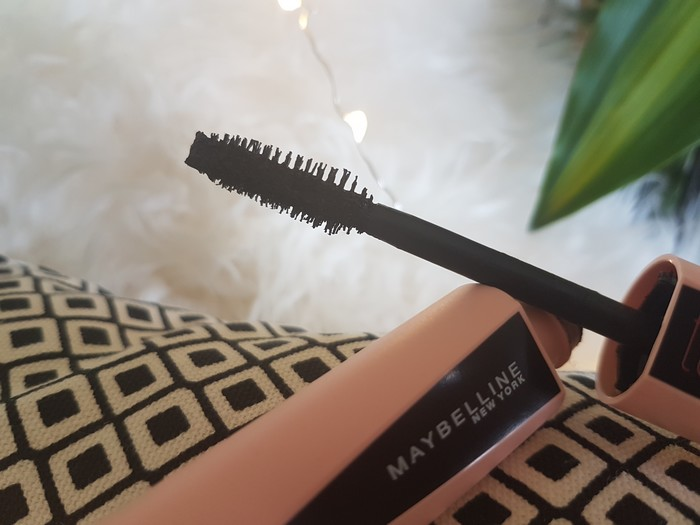 test du nouveau mascara Maybelline, le Total Temptation