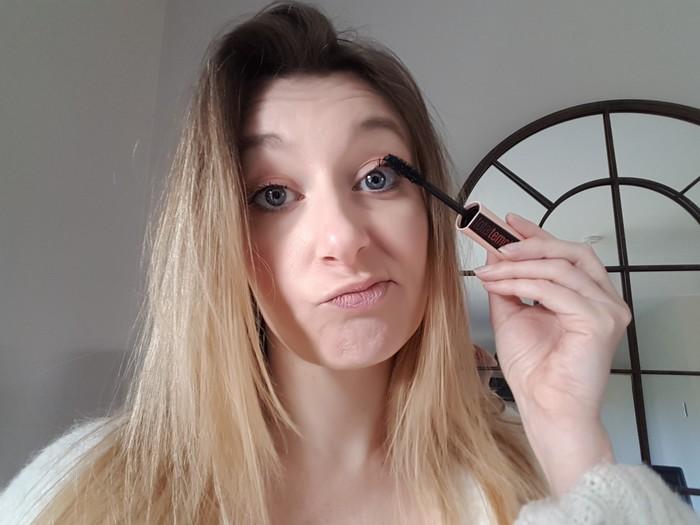 test du nouveau mascara Maybelline, le Total Temptation