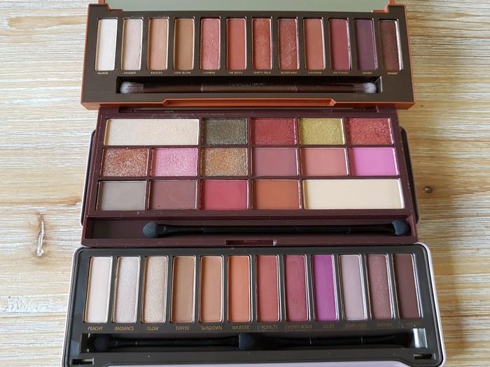 battle de palettes: petit prix vs haut de gamme