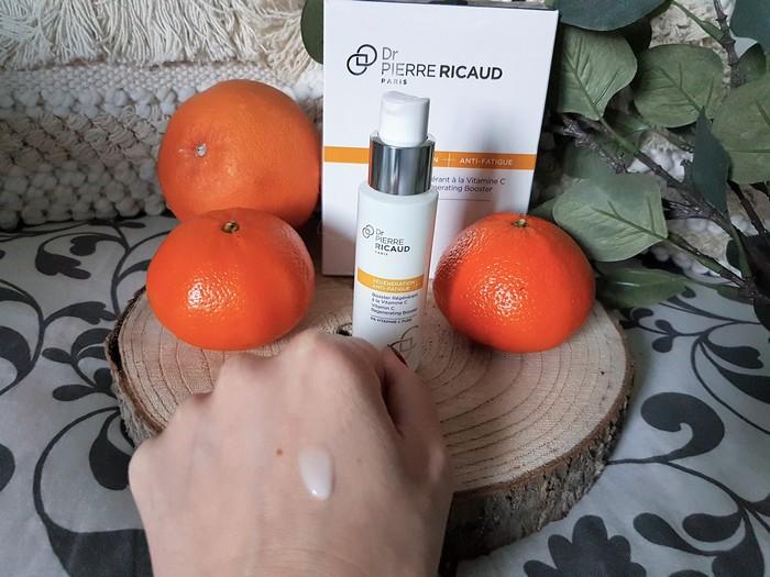 test et revue du soin visage booster à la vitamine C docteur Pierre Ricaud