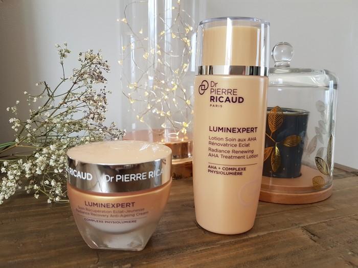 Peau rayonnante avec la gamme Luminexpert Dr Pierre Ricaud