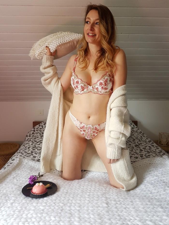 découverte de la marque de lingerie française Millesia disponible sur l'eshop Glamuse