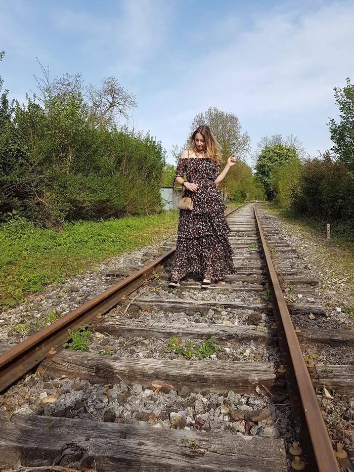 La robe longue bohème