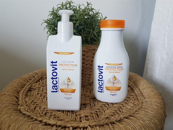 mon avis sur les soins à base de lait disponibles en grandes surfaces de la marque lactovit