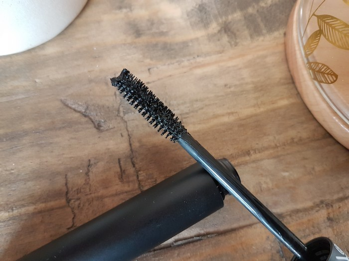 test du mascara et du liner Absolution - maquillage bio