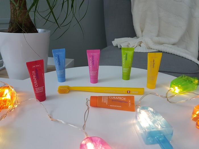 Test du dentifrice Be You de Curaprox – Marre de la menthe?