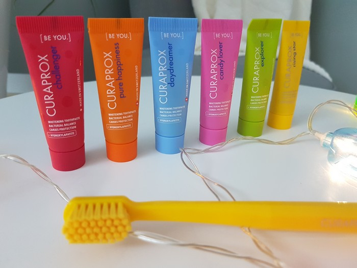 test du dentifrice be you curaprox
