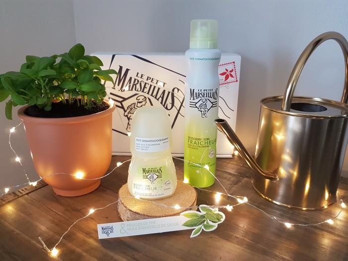 Test des nouveaux déodorants Le Petit Marseillais