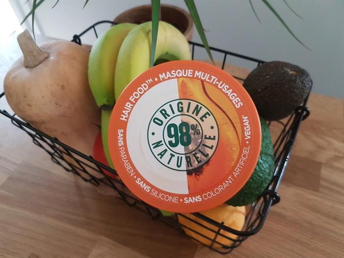 masque fructis hair food. Greenwashing?