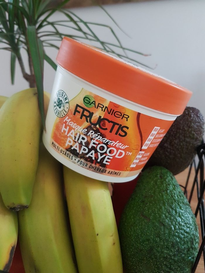 masque fructis hair food. Greenwashing?