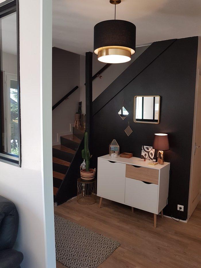Déco: Relooker une entrée et un escalier! ⋆ Atelier de Tendances