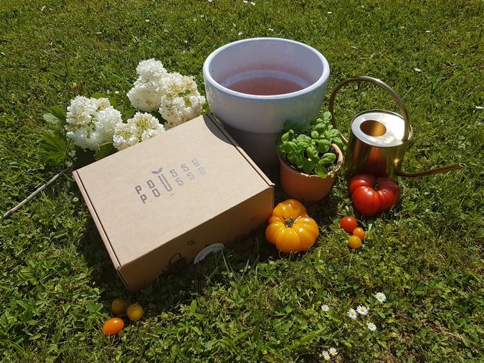 Découverte: La box jardinage Pousse Pousse