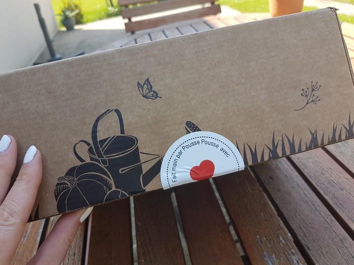 découverte de la box jardinage pousse pousse bio