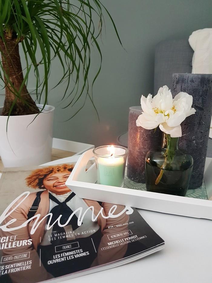découverte des bougies à la cire naturelle de soja Heart & Home