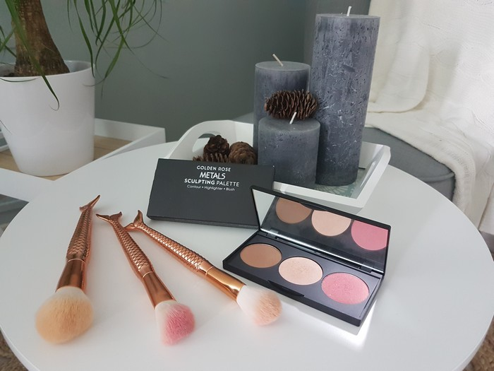 Test de la Metals Sculpting Palette de Cookie's Make Up