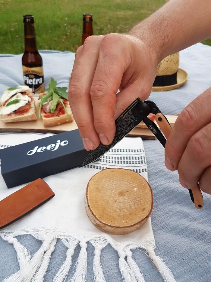 découverte de Deejo le couteau personnalisable