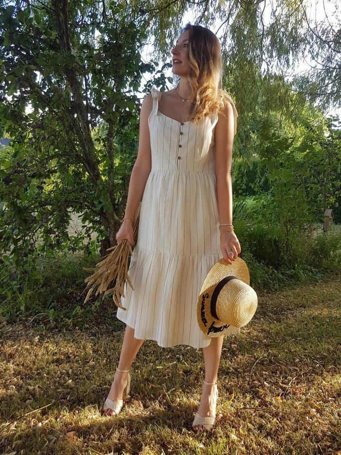 tendance robe d'été rétro
