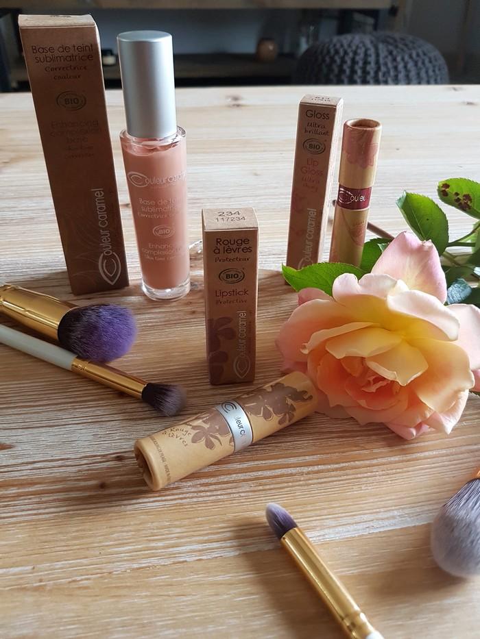 avis maquillage bio couleur caramel
