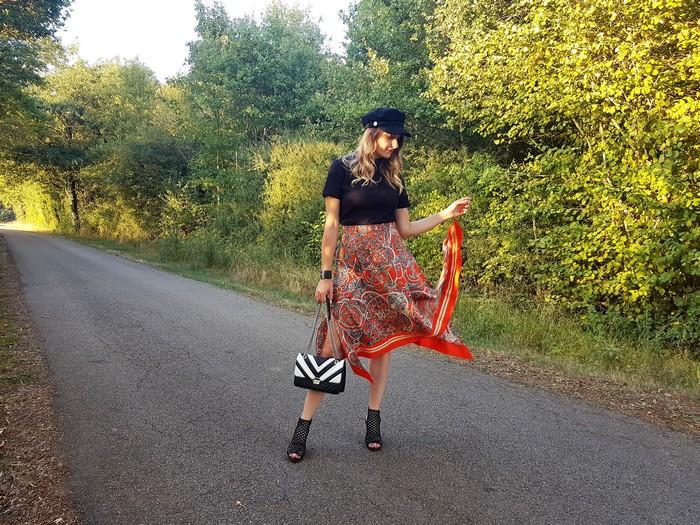 Tendance mode automne 2018: l'imprimé foulard