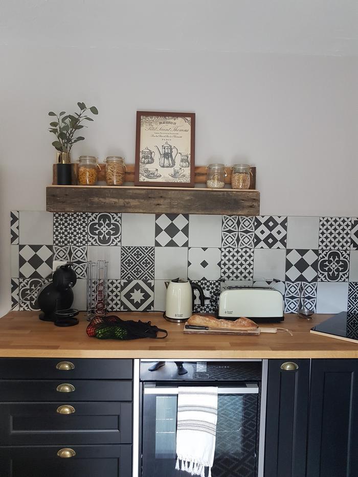 D corer ses murs avec ma cuisine atelier de for Decorer ma cuisine