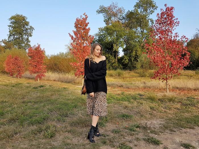 Look d'automne: la tendance léopard