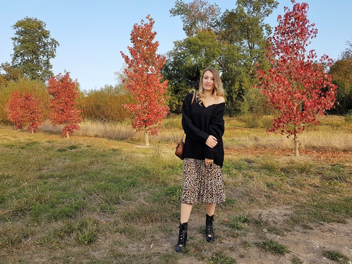 look automne tendance léopard