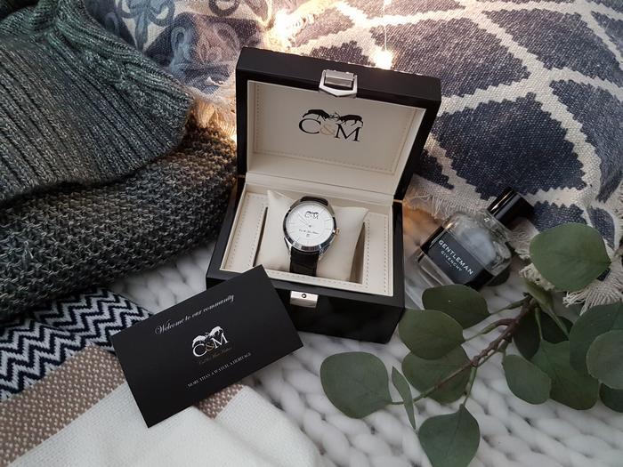 Cadeau de Noël pour homme: la montre Col and Mac Arthur