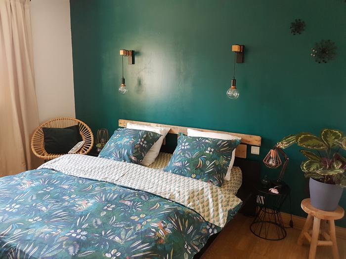 Rénovation de ma chambre x linge de lit Becquet