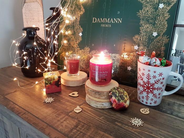 Ambiance de Noël avec les bougies Heart and Home