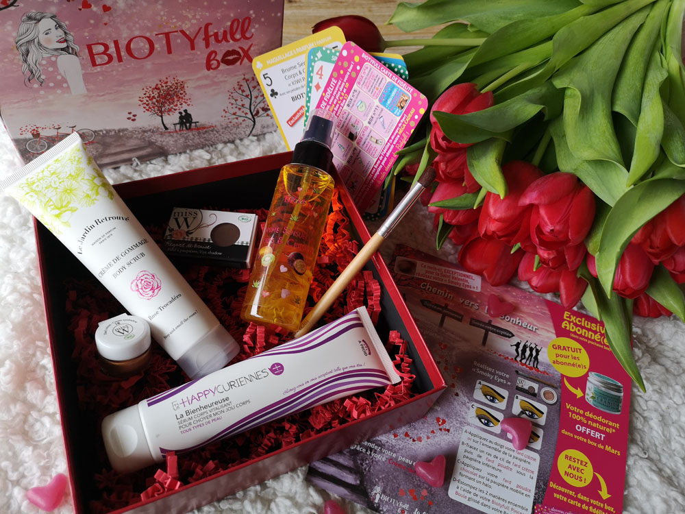 Avis Biotyfull box de Février l'Amoureuse