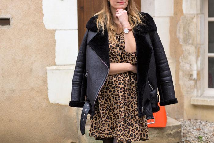 Stylée en robe léopard Kiabi!