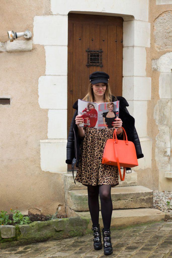 robe léopard Kiabi